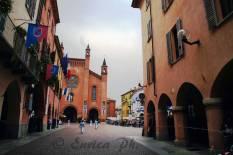 Scorcio su Piazza Risorgimento