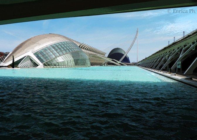 La Ciudad de las Artes y las Ciencias di Valencia: tra arte, scienza e natura.